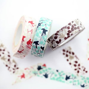 Image of Message Bird Washi Tape