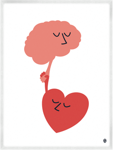 Image of Heart Meets Mind Print