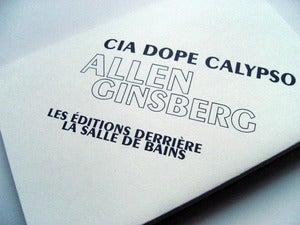 Image of Allen Ginsberg  Cia DOPE calypso