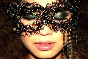 Image of LSD Fashion LAB Chained and Wired up Eye Mask