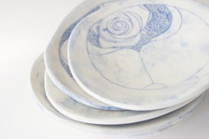 Image of Cobalt Flora Small Plates