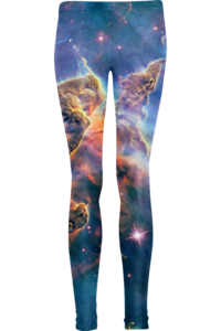 Image of Sea Nebula leggings