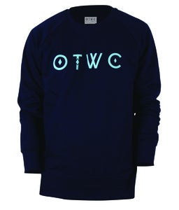 Image of OTWC - Original Sweater - Blue/Navy
