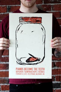Image of Pianos Become the Teeth Print