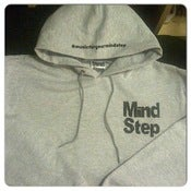 Image of MindStep Slim Fit Hoodie (Grey/Black Logo)