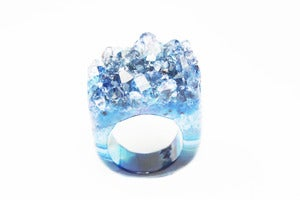 Image of NEW IN! ALCHEMY Semi-Precious Drusy Ring (Lge)
