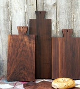 French Farmhouse Walnut Breadboards