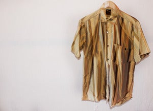 Image of CUSTOM SATIN BUTTON UP
