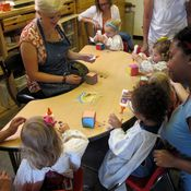 Image of Summer Weekly Toddler Art Class for ages 2-3