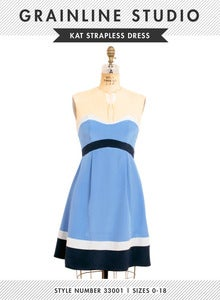 Image of Kat Strapless Dress