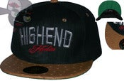 "Image of The ""High End Habits"" Faux Ostrich Bill Snapback Hat Joe Rocken Custom Design"