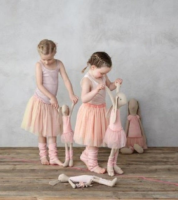Image of Medium Cotton Bunny/Ballerina Outfit 