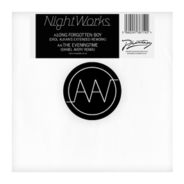 "Image of Night Works ""Long Forgotten Boy"" (Erol Alkan Rework) / ""The Eveningtime (Daniel Avery Remix)"" 12"""