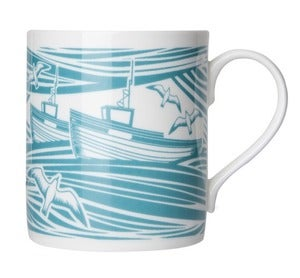 Image of Whitby Bone China Mug - Lido