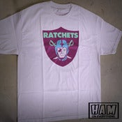 Image of Ratchets Shield T (White)