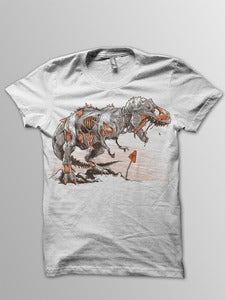 Image of Nuclear Zombie T-Rex Tee