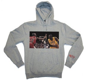 Image of Kobe vs MJ - Grey Hoodie