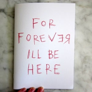 Image of Marci Washington's 'For Forever' Zine