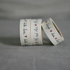 Image of Hand written tape