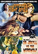 Image of THE VAMPIRE'S NIGHT ORGY + DR. JEKYLL VS. THE WEREWOLF