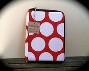 "Image of The ""Mini Commuter"" - Red/White Dots"