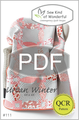 Image of Urban Winter ~ Pattern #111 (PDF Pattern)