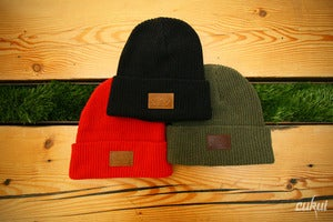 Image of Eco Cotton Ribbed Cuff Beanie