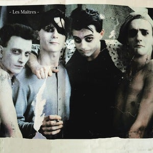 Image of Les Maitres - Demos LP (dsr075LP) - 300 copies - first pressing - PRE-ORDER!!!