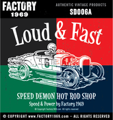 Image of Speed Demon Loud & Fast 001 - SD006A