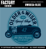 Image of Older & Wiser Speed Shop 32 Hi-boy - OW003A