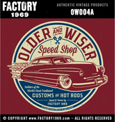 Image of Older & Wiser Speed Shop 50 Merc - OW004A