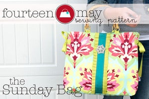 Image of Sunday Bag, A Tote bag Sewing Pattern PDF