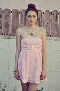 Image of Rose BabyDoll Dress