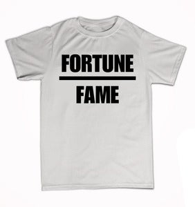 "Image of Hooligan Academy ""Fortune Over Fame"" : Tee"