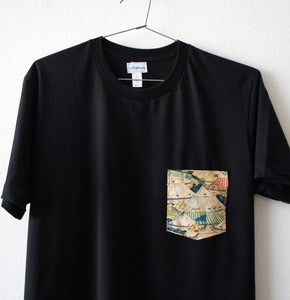 Image of CIRCUS POCKET TEE (black)