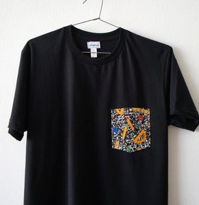 Image of 1980 POCKET TEE (black)
