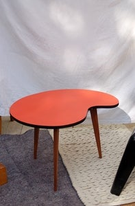 Image of table 50's palette tripode pied compas