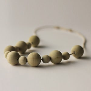 Image of Wooden Beads - Green