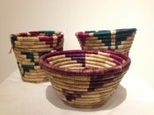 Image of Medium and Small Traditional Baskets