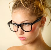 Image of Rita Swarovski Crystal Reader Glasses