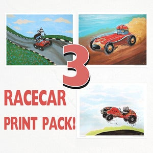 Image of The racing tri-pack!