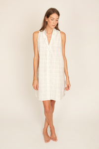 Image of Eibel Dress, Tictactoe Print
