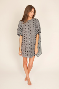 Image of Joey Dress, Ladder Print