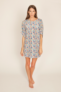 Image of Joey Dress, Rainbow Print
