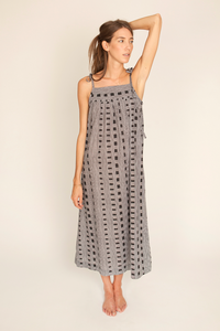 Image of Maddy Dress, Ladder Print