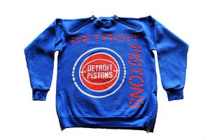 Image of Men's D.Fame Custom &quot;Detroit Pistons&quot; Crewneck