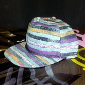 Image of Fresh Prince Hat - Light Blue Stripes