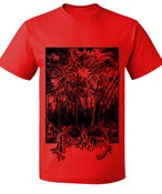 Image of Red HAARP Doomsday T Shirt