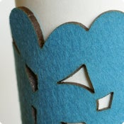 Image of cozy/cuff SNAP - light turquoise