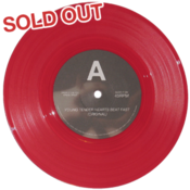 Image of 'Young Tender Hearts Beat Fast' Ltd. Red Vinyl 7&quot; (500 copies)